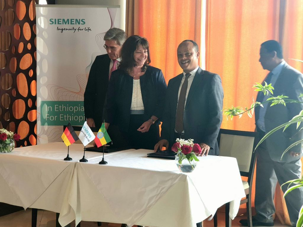 Siemens and Ethiopia collaborate to address urgent energy and infrastructure challenges