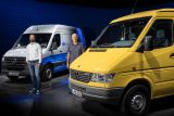 Versatile transport icon celebrates anniversary: The Mercedes-Benz Sprinter – 25 years of pioneering its segment